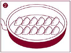倉敷ぎょうざの美味しい焼き方2