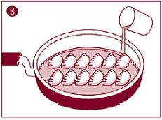 倉敷ぎょうざの美味しい焼き方3