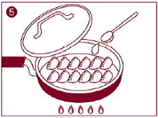 倉敷ぎょうざの美味しい焼き方5