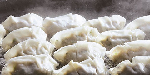 倉敷ぎょうざの焼き方イメージ